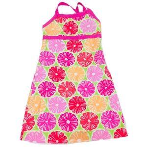 Lilly Pulitzer Bright Green Daisy Girls 8 Dress